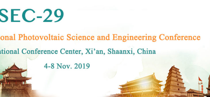 MCAST Energy presents two papers at the 29th International PV Science and Engineering Conference (Asia PVSEC-29) in Xi'an, China